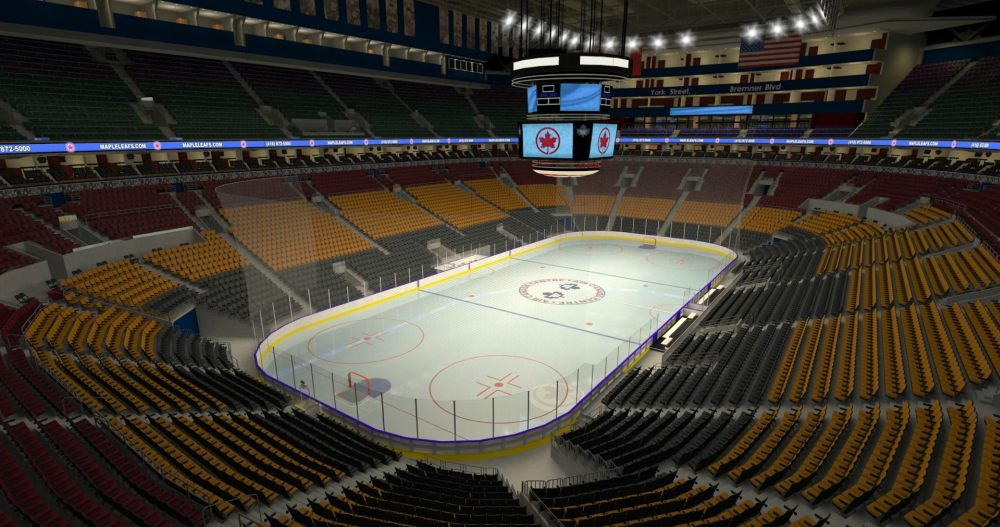 Sat, Jan 06, 2018 - Canucks @ Leafs - Sec 301 Row 1