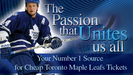 Cheap Toronto Maple Leafs Tickets